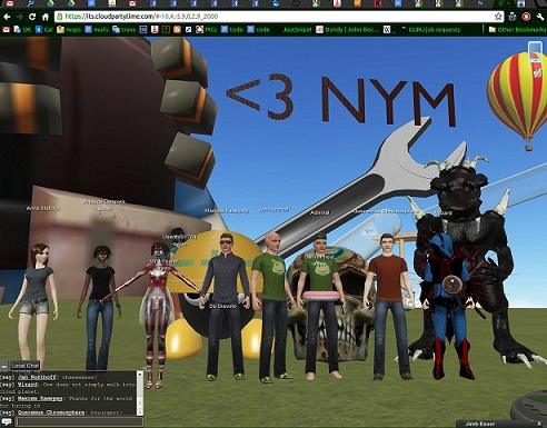 Cloud Party: Facebook-based and user-generated 3D Virtual World
